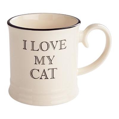 Fairmont and Main Quips & Quotes Mug I Love My Cat