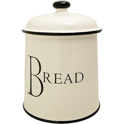 Fairmont and Main Script Bread Crock