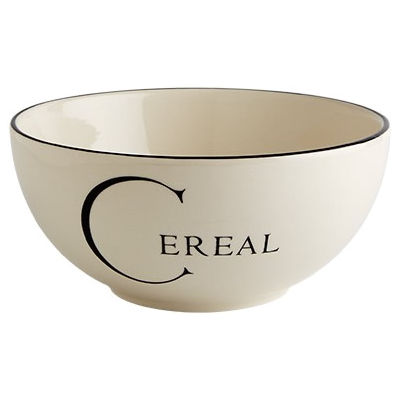 Fairmont and Main Script Cereal Bowl Coupe