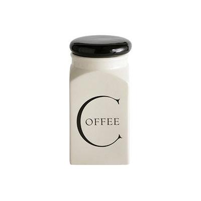 Fairmont and Main Script Storage Jar Coffee