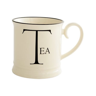 Fairmont and Main Script Tankard Mug Tea