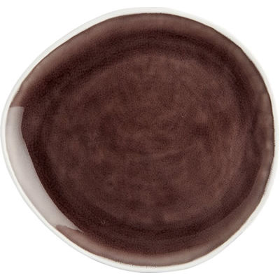 Fairmont and Main Vie Naturelle Large Plate Aubergine