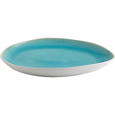 Fairmont and Main Vie Naturelle Medium Plate Turquoise