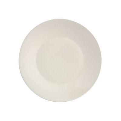 Fairmont and Main White Linen Dessert Plate 21cm