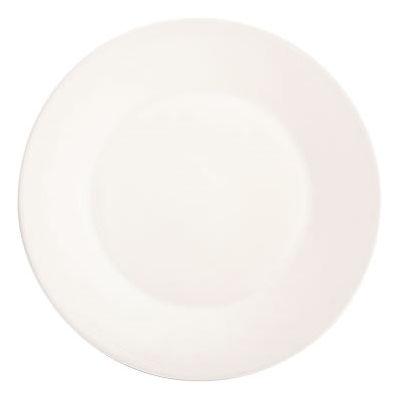 Fairmont and Main White Linen Dinner Plate 27.5cm