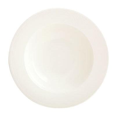 Fairmont and Main White Linen Pasta Bowl 25cm