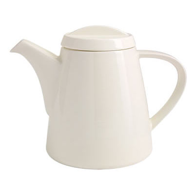 Fairmont and Main White Linen Teapot 1.2L