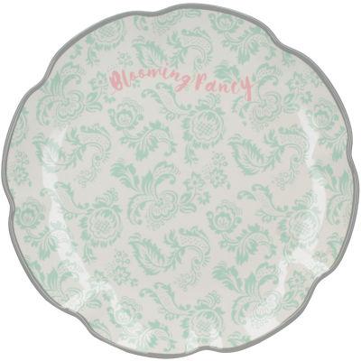 Katie Alice Blooming Fancy Side Plate Slogan