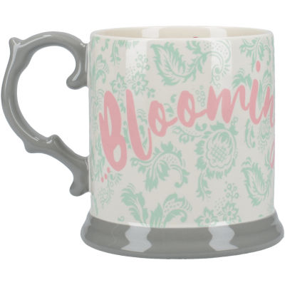Katie Alice Blooming Fancy Tankard Mug Slogan