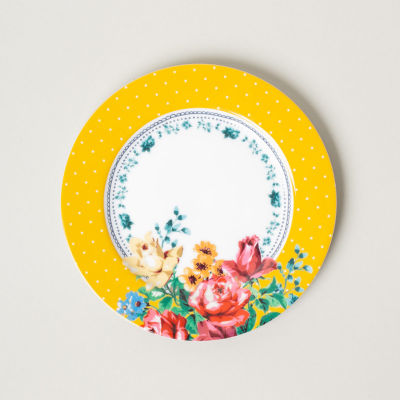 Katie Alice Bohemian Spirit Side Plate Mustard Yellow