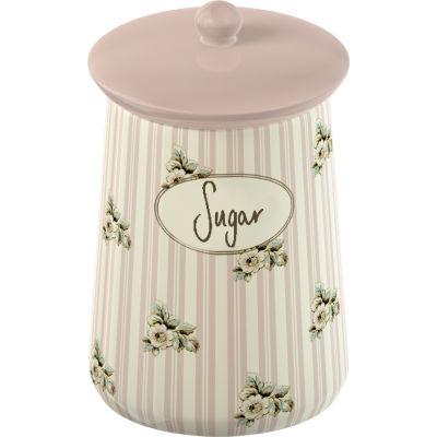 Katie Alice Cottage Flower Storage Jar Sugar