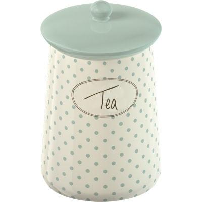 Katie Alice Cottage Flower Storage Jar Tea