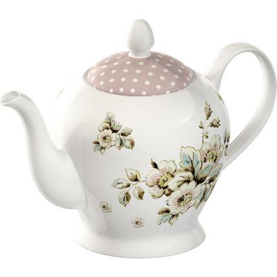 Katie Alice Cottage Flower Teapot