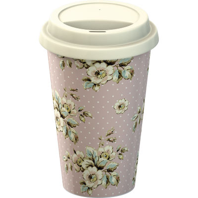 Katie Alice Cottage Flower Travel Mug