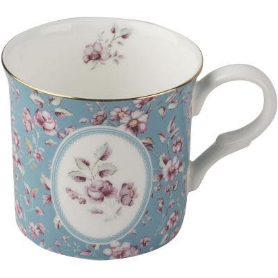 Katie Alice Ditsy Floral Palace Mug Teal