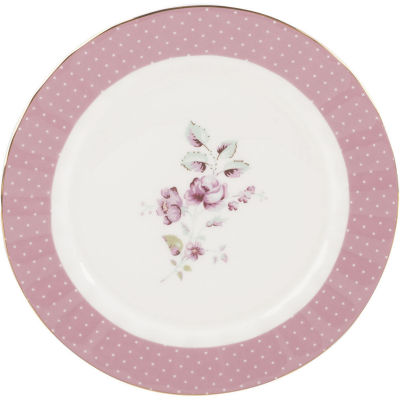 Katie Alice Ditsy Floral Side Plate Pink