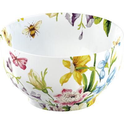 Katie Alice English Garden Cereal Bowl White Floral