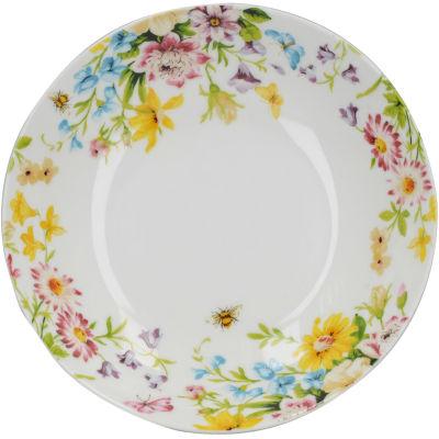 Katie Alice English Garden Pasta Bowl White Floral