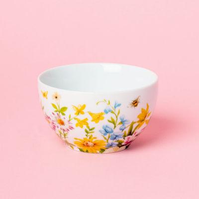 Katie Alice English Garden Small Bowl Floral White