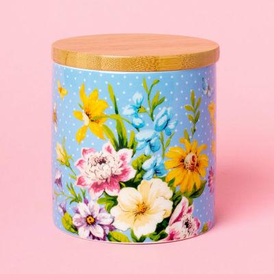 Katie Alice English Garden Storage Jar Floral Blue