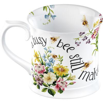 Katie Alice English Garden Tankard Mug Busy Bees