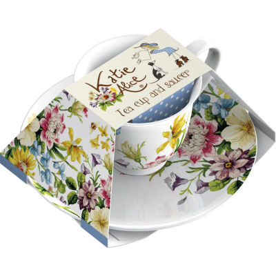 Katie Alice English Garden Teacup & Saucer Garden