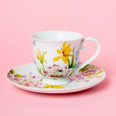 Katie Alice English Garden Teacup & Saucer