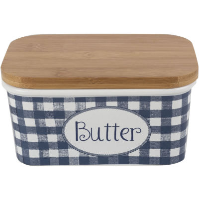 Katie Alice Vintage Indigo Butter Dish