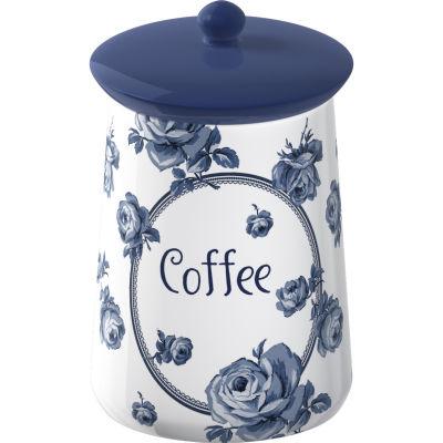 Katie Alice Vintage Indigo Storage Jar Coffee