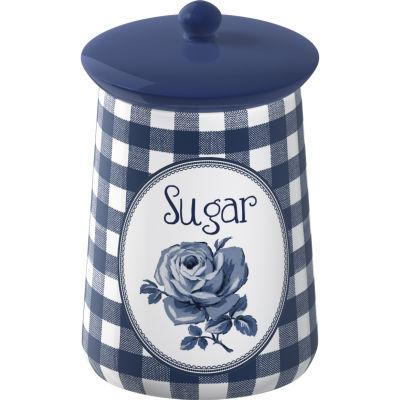 Katie Alice Vintage Indigo Storage Jar Sugar