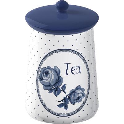 Katie Alice Vintage Indigo Storage Jar Tea