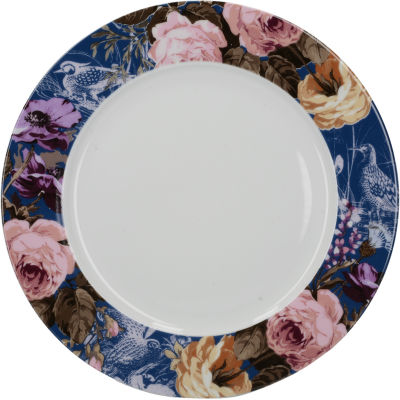 Katie Alice Wild Apricity Dinner Plate Floral Navy