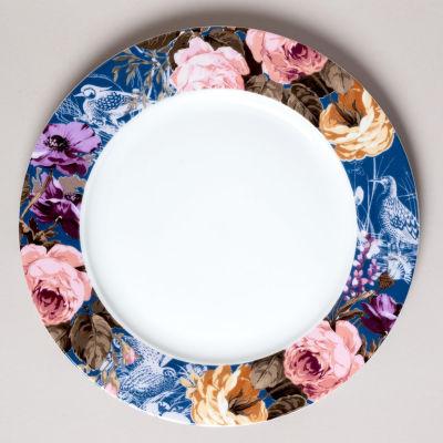 Katie Alice Wild Apricity Dinner Plate Navy