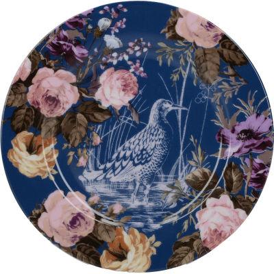 Katie Alice Wild Apricity Side Plate Birds Navy