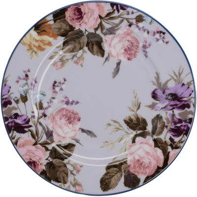 Katie Alice Wild Apricity Side Plate Floral Grey