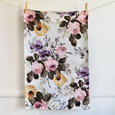 Katie Alice Wild Apricity Tea Towel