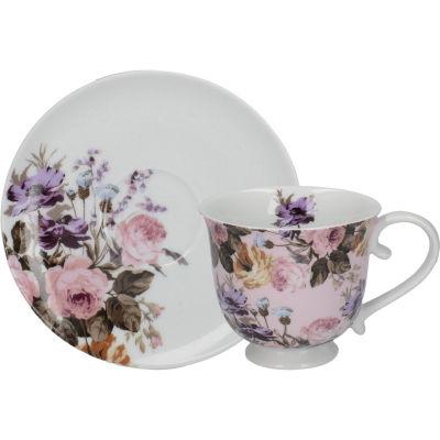 Katie Alice Wild Apricity Teacup & Saucer