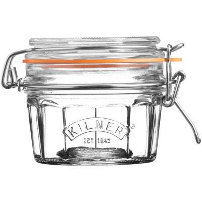 Kilner Home Preserving Jars Facetted Kilner Cliptop Jar Tall 0.25L
