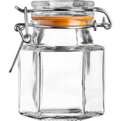 Kilner Home Preserving Jars Hexagonal Kilner Cliptop Spice Jar