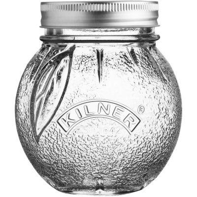 Kilner Home Preserving Jars Kilner Fruit Preserve Jar 0.4L Orange