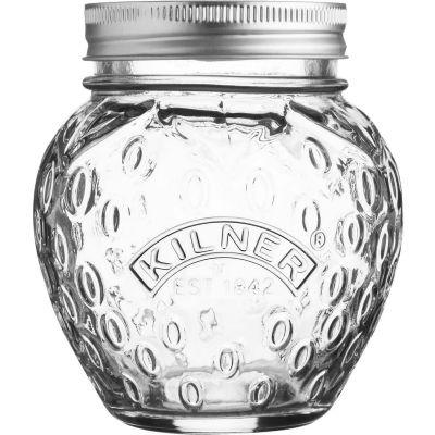 Kilner Home Preserving Jars Kilner Fruit Preserve Jar 0.4L Strawberry