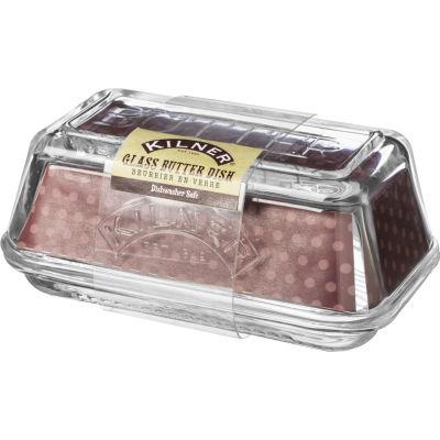 Kilner Home Preserving Jars Kilner Glass Butter Dish