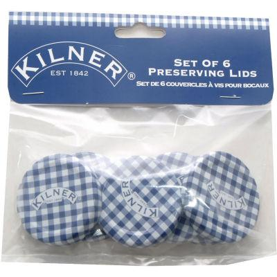 Kilner Home Preserving Jars Kilner Hexagonal Twist-Top Lids Pack D