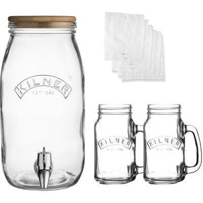 Kilner Home Preserving Jars Kilner Kombucha Set