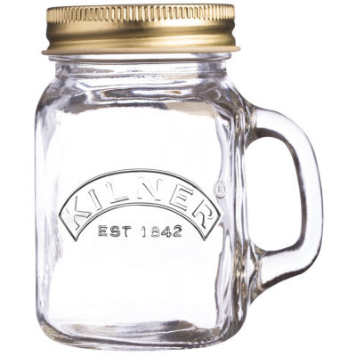 Kilner Home Preserving Jars Kilner Lidded Mini Handled Jar 0.14L