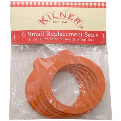 Kilner Home Preserving Jars Kilner Replacement Seal Set of 6 Small