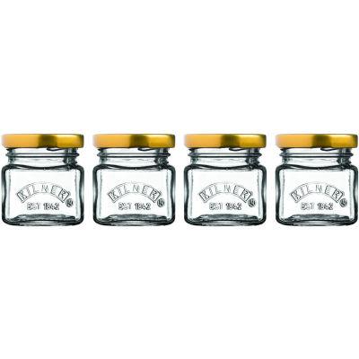 Kilner Home Preserving Jars Kilner Screwtop Mini Jar Set of 4