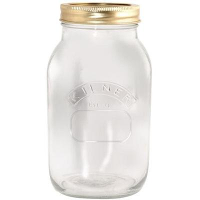Kilner Home Preserving Jars Kilner Screwtop Preserve Jar 1L