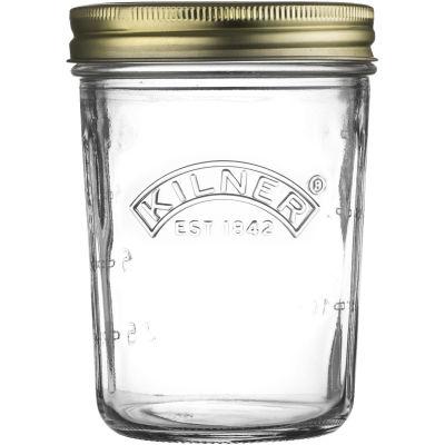 Kilner Home Preserving Jars Kilner Wide Mouth Preserve Jar 0.35L