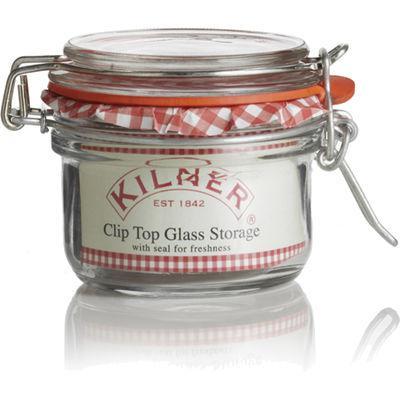 Kilner Home Preserving Jars Round Kilner Cliptop Jar 0.125L